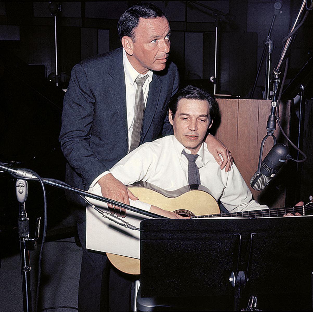 Frank Sinatra Antonio Carlos Jobim Francis Albert Sinatra Antonio Carlos Jobim