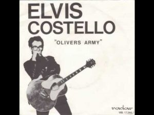 Elvis Costello Oliver's Army Single Cover 1979