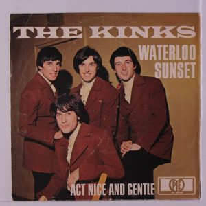 The Kinks - Waterloo Sunset - single cover - 1967