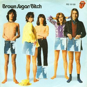 The Rolling Stones Brown Sugar single cover 1971