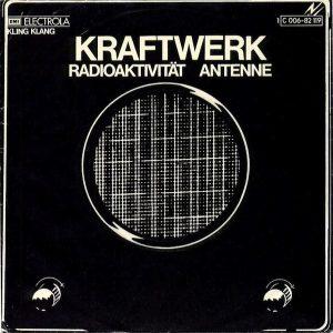 Kraftwer - RadioAktivitat single Cover - 1976