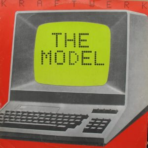 Kraftwerk The Model Single Sleeve
