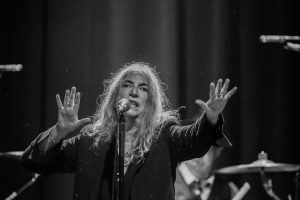 Patti Smith and her Band play Horses at The Fillmore, San Francsisco on December 29, 2015. Photo by Michael McGrath, heyreverb.com