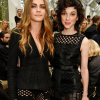 Annie Clark and Cara